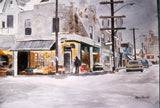 Kensington Market Toronto: The Old Jewish Area-Martin Potashner Paintings