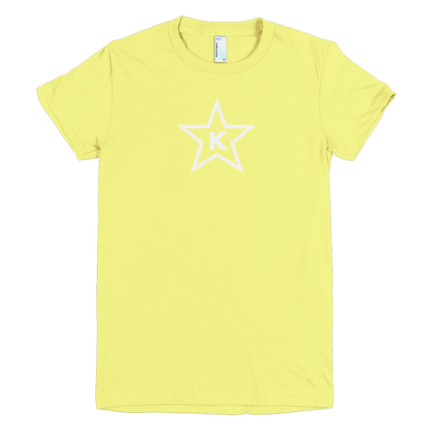 Womens Kosher T-Shirt 5 Point Star