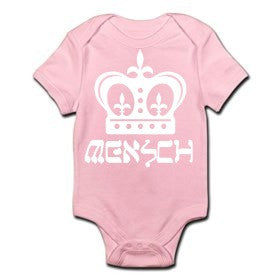 Mensch Onesie (Yellow and Pink)