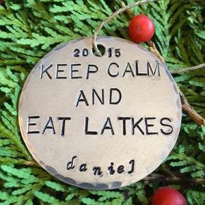 Keep Calm and Eat Latkes
