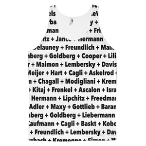 Jewish Artists Sublimation (All Over Print) Tank Top