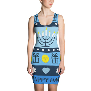 Ugly Hanukkah Sweater Dress