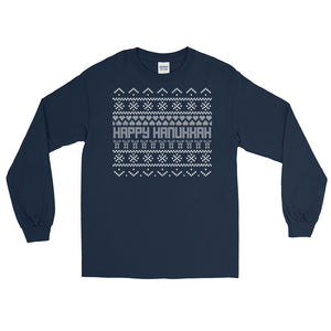 Ugly Hanukkah Sweater Long Sleeve T-Shirt
