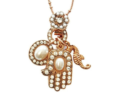 Irit Goffer-Sasson Hamsa Necklace