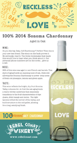 Reckless Love Chardonnay Tasting Notes
