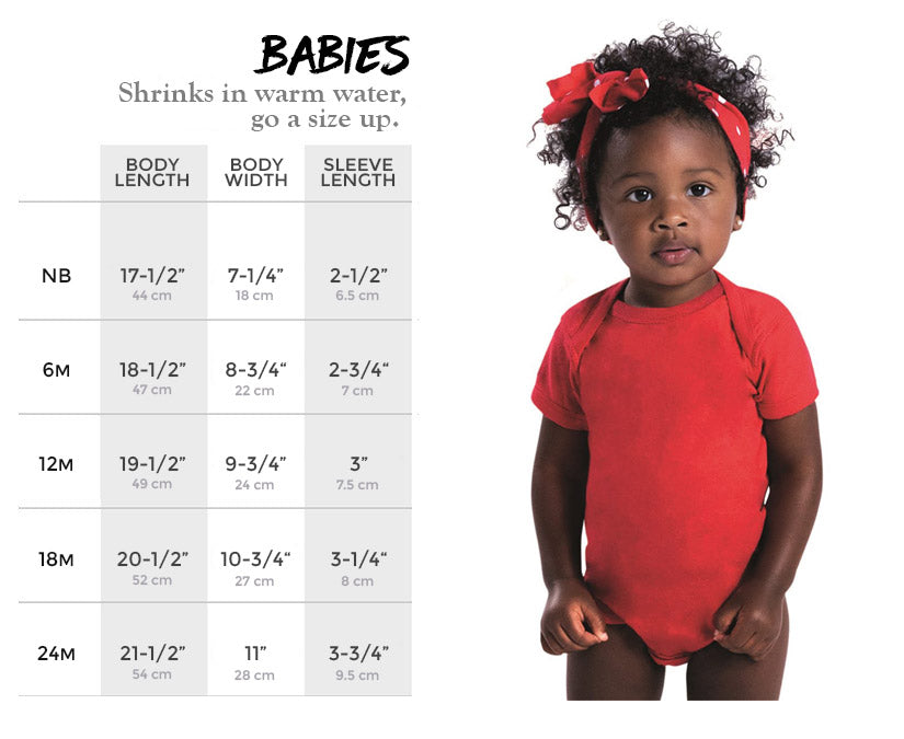 Babies Size Chart