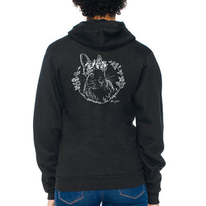 Someone to Respect (Bunny) Unisex Zip Hoodie