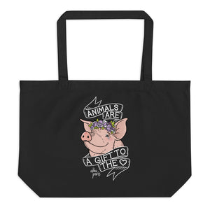 A Gift To The Heart Organic Shopping Bag