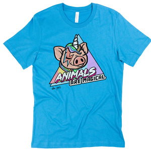 """Animals Are Magical"" Short Sleeve T-shirt"