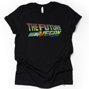 """The Future Is Vegan"" Short Sleeve T-shirt"