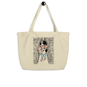 """Stand Up For What You Believe In"" Organic Shopping Bag"