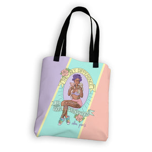 """Pinup Perception"" Tote Bag"