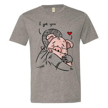 """I got you"" Unisex Short Sleeve T-shirt"