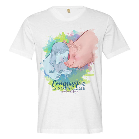 """Compassion Is Not a Crime"" Unisex Short Sleeve T-shirt"