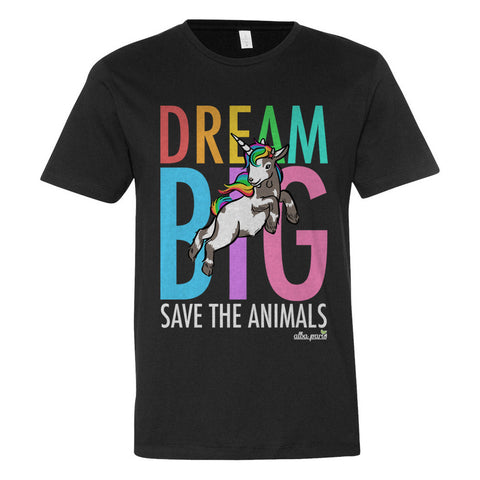 """Dream Big"" Unisex Short Sleeve T-shirt"
