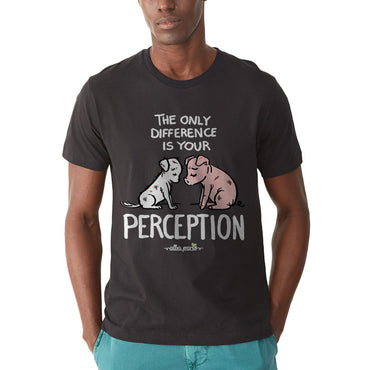 """Perception"" Unisex Short Sleeve T-shirt"