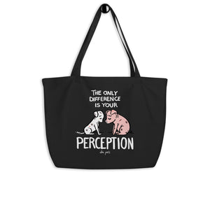 """Perception"" Organic Shopping Bag"