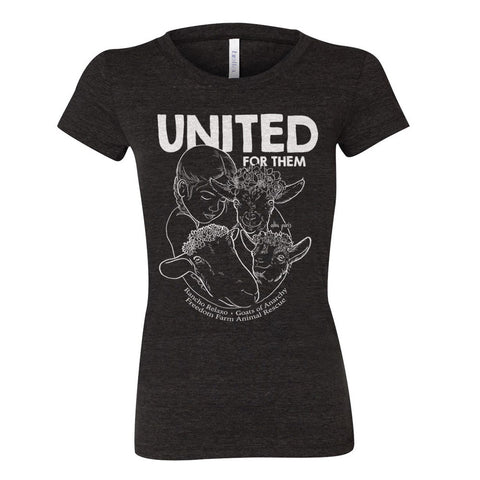 "LIMITED EDITION ""United for Them"" Women Short Sleeve T-shirt"