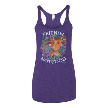 """Friends Not Food"" Women Tank Top"