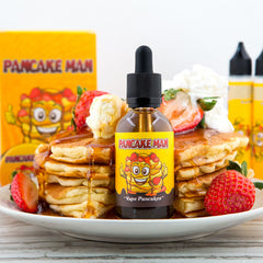 Best place to buy Bulk eLiquids - Vape BreakFast Classics - Pancake Man - 60ml - eLiquid.co - 1