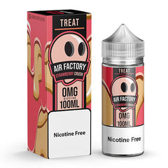 Treat Factory Eliquid - Strawberry Crush - 100ml