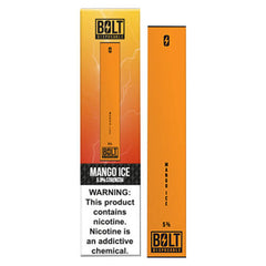 Bolt - Disposable Vape Device - Case of Mango Ice (10 Pack)