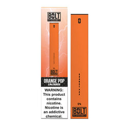 Bolt - Disposable Vape Device - Case of Orange Pop (10 Pack)
