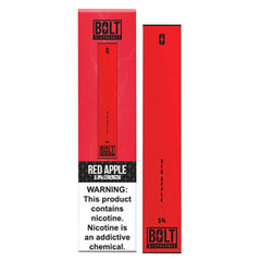 Bolt - Disposable Vape Device - Case of Red Apple (10 Pack)