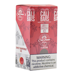 Cali Bars - Disposable Vape Device - Case of Sweet Grapefruit ICE (10 Pack)