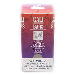 Cali Bars - Disposable Vape Device - Case of Strawberry ICE (10 Pack)