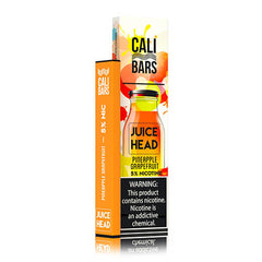 Cali Bars x Juice Head - Disposable Vape Device - Case of Pineapple Grapefruit (10 Pack)