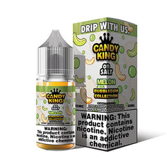 Candy King Bubblegum Collection On Salt - Melon - 30ml