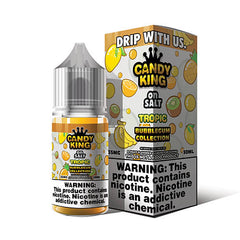 Candy King Bubblegum Collection On Salt - Tropic - 30ml