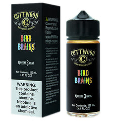 Cuttwood E-Liquids - Bird Brains - 120ml