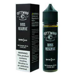 Cuttwood E-Liquids - Boss Reserve - 60ml