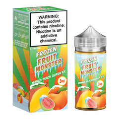 Frozen Fruit Monster eJuice - Mango Peach Guava Ice - 100ml