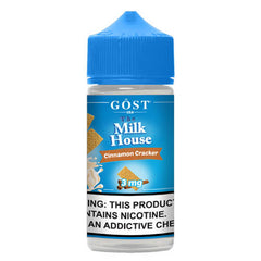 The Milk House by Gost Vapor - Cinnamon Cracker - 100ml