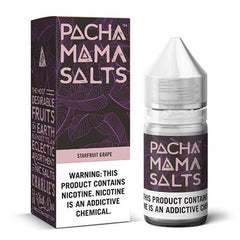 Pachamama E-Liquid Salts - Starfruit Grape - 30ml