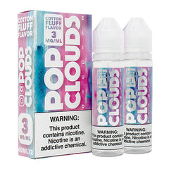 Pop Clouds E-Liquid - Cotton Fluff - 2x60ml