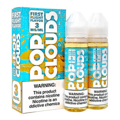 Pop Clouds E-Liquid - First Flight - 2x60ml