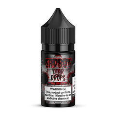 Sadboy E-Liquid Tear Drops - Straw Jam Cookie SALT - 30ml