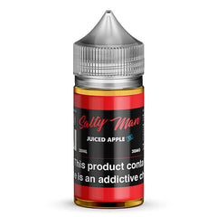 Salty Man Vapor eJuice - Juiced Apple Ice - 30ml