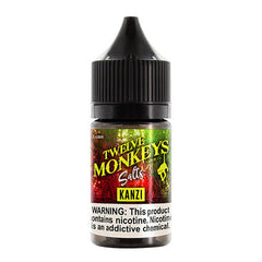 Twelve Monkeys Vapor - Kanzi SALT - 30ml