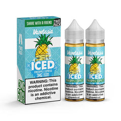 Vapetasia eJuice ICED - Pineapple Express - 2x60ml