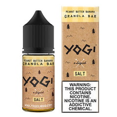 Yogi ELiquid Salts - Peanut Butter Banana Yogi Salt - 30ml