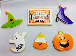 Halloween Cookie Decorating Workshop