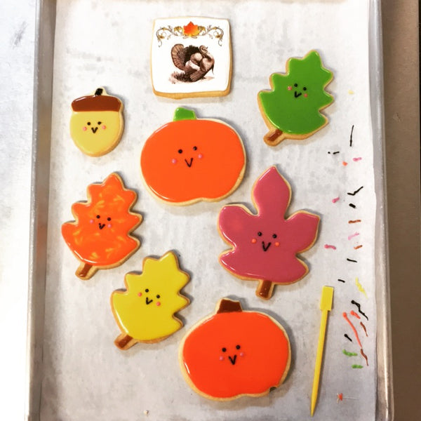 Thanksgiving Cookie Decorating