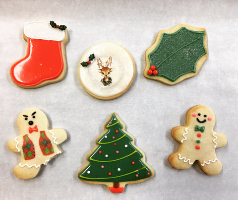 Christmas Cookie Decorating Workshop!