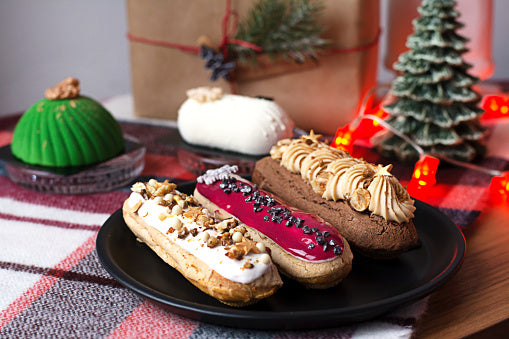 Holiday Eclairs