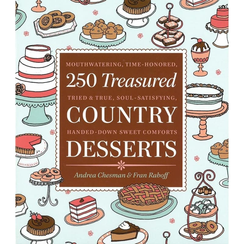 250 Treasured Country Desserts - Books